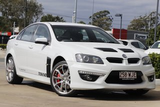 2012 Holden Special Vehicles ClubSport E Series 3 MY12.5 R8 White 6 Speed Manual Sedan.