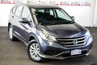 2013 Honda CR-V 30 VTi (4x4) Blue 5 Speed Automatic Wagon.