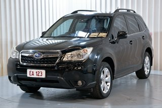 2013 Subaru Forester S4 MY13 2.5i-L Lineartronic AWD Black 6 Speed Constant Variable Wagon.