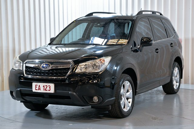 Used Subaru Forester S4 MY13 2.5i-L Lineartronic AWD Hendra, 2013 Subaru Forester S4 MY13 2.5i-L Lineartronic AWD Black 6 Speed Constant Variable Wagon