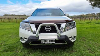 2016 Nissan Pathfinder R52 Series II MY17 Ti X-tronic 2WD White 1 Speed Constant Variable Wagon.