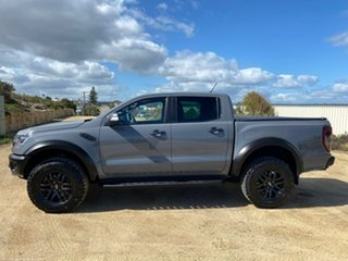 2019 Ford Ranger PX MkIII 2019.75MY Raptor Grey 10 Speed Sports Automatic Double Cab Pick Up