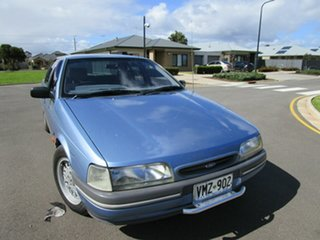 1993 Ford Falcon ED GLi Blue 4 Speed Automatic Sedan.