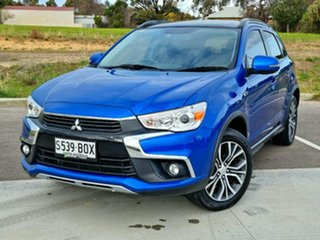 2017 Mitsubishi ASX XC MY17 XLS 2WD Blue 6 Speed Constant Variable Wagon