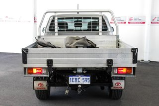 2014 Toyota Hilux KUN26R MY14 SR (4x4) Silver Sky 5 Speed Automatic Double Cab Chassis