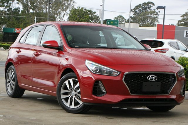 Used Hyundai i30 PD2 MY19 Active Aspley, 2019 Hyundai i30 PD2 MY19 Active Red 6 Speed Sports Automatic Hatchback