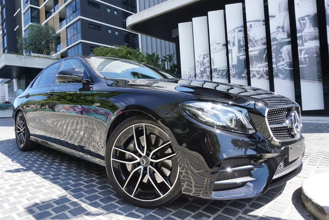 Used Mercedes-Benz E-Class W213 East Brisbane, 2020 Mercedes-Benz E-Class W213 E53 AMG Obsidian Black 9 Speed Sports Automatic Sedan