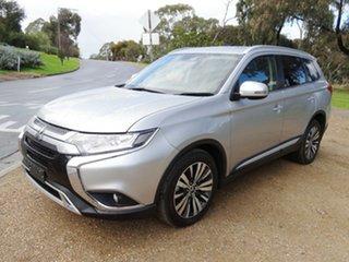 2018 Mitsubishi Outlander ZL MY19 LS AWD Silver 6 Speed Sports Automatic Wagon.