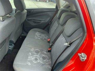 2012 Ford Fiesta WT CL Orange 6 Speed Automatic Hatchback