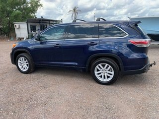 2014 Toyota Kluger KXS Blue 4 Speed Auto Active Select Wagon