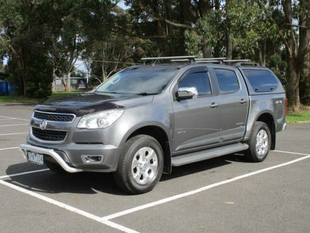 Used Holden Colorado Timboon, 2013 Holden Colorado RG Turbo LTZ 4x4 Grey Automatic Utility