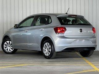 2021 Volkswagen Polo AW MY21 70TSI DSG Trendline Silver 7 Speed Sports Automatic Dual Clutch.