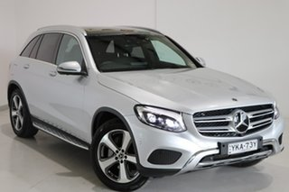 2018 Mercedes-Benz GLC-Class X253 808MY GLC250 d 9G-Tronic 4MATIC Silver 9 Speed Sports Automatic.
