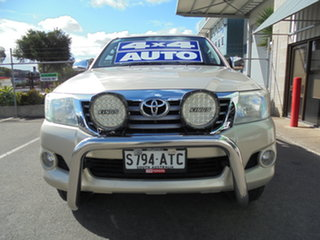 2012 Toyota Hilux GGN25R MY12 SR5 Double Cab Gold 5 Speed Automatic Utility.
