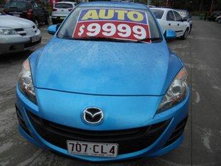2010 Mazda 3 BL10F1 MY10 Maxx Activematic Blue 5 Speed Sports Automatic Sedan.