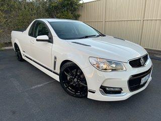 2016 Holden Ute VF II MY16 SS V Ute White 6 Speed Sports Automatic Utility.
