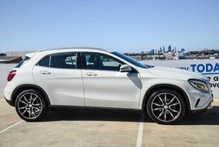 2014 Mercedes-Benz GLA-Class X156 GLA200 CDI DCT White 7 Speed Sports Automatic Dual Clutch Wagon.