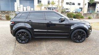 2013 Land Rover Range Rover Evoque LV SD4 Dynamic Black 6 Speed Automatic Wagon.