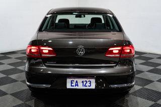 2013 Volkswagen Passat Type 3C MY13.5 118TSI DSG Brown 7 Speed Sports Automatic Dual Clutch Sedan
