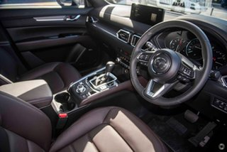 2021 Mazda CX-5 KF4WLA Akera SKYACTIV-Drive i-ACTIV AWD Black 6 Speed Sports Automatic Wagon
