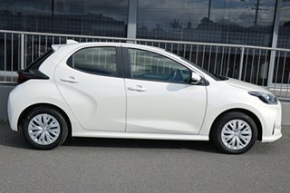 2020 Toyota Yaris Mxpa10R Ascent Sport White 1 Speed Constant Variable Hatchback.