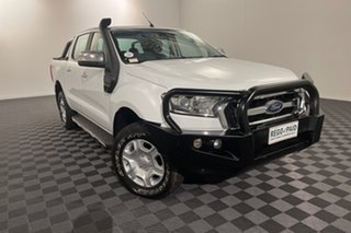 2017 Ford Ranger PX MkII XLT Double Cab White 6 speed Automatic Utility.
