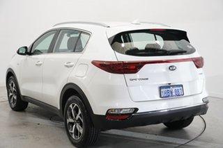 2020 Kia Sportage QL MY20 S AWD White 8 Speed Sports Automatic Wagon.