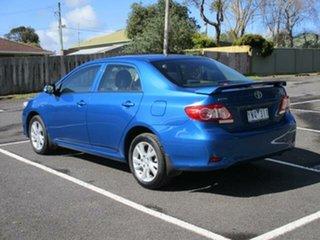 2011 Toyota Corolla ZRE152R Ascent Sport Blue Automatic Sedan.