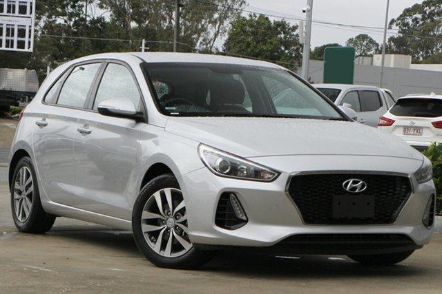 Used Hyundai i30 PD2 MY19 Active Aspley, 2019 Hyundai i30 PD2 MY19 Active Silver 6 Speed Sports Automatic Hatchback