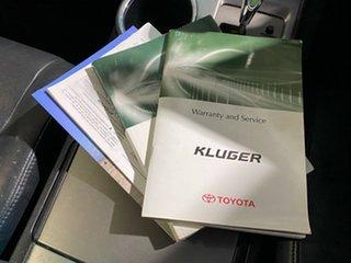 2008 Toyota Kluger GSU40R KX-S 2WD Blue 5 Speed Sports Automatic Wagon