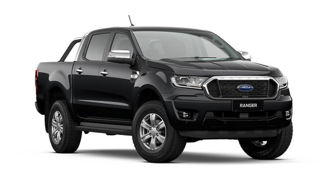New Ford Ranger PX MkIII 2021.75MY XLT Cardiff, 2021 Ford Ranger PX MkIII 2021.75MY XLT Shadow Black 10 Speed Sports Automatic Double Cab Pick Up