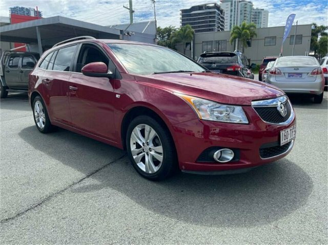Used Holden Cruze JH MY13 CDX Southport, 2013 Holden Cruze JH MY13 CDX Red 6 Speed Automatic Wagon