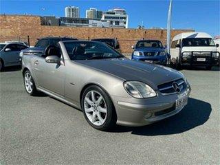 2002 Mercedes-Benz SLK200 202 Kompressor Silver Automatic Convertible.