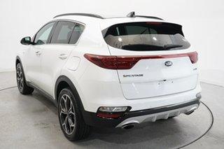 2020 Kia Sportage QL MY20 GT-Line AWD White 8 Speed Sports Automatic Wagon.