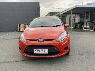 2012 Ford Fiesta WT CL Orange 6 Speed Automatic Hatchback.