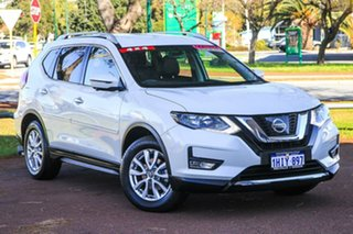 2017 Nissan X-Trail T32 ST-L X-tronic 4WD White 7 Speed Constant Variable Wagon.