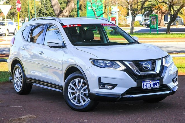 Used Nissan X-Trail T32 ST-L X-tronic 4WD Attadale, 2017 Nissan X-Trail T32 ST-L X-tronic 4WD White 7 Speed Constant Variable Wagon
