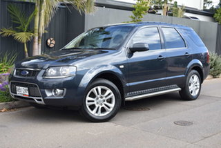 2011 Ford Territory SY MkII TS RWD Limited Edition Grey 4 Speed Sports Automatic Wagon.