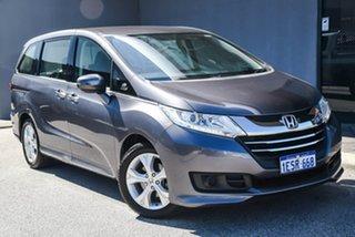 2014 Honda Odyssey RC MY14 VTi Grey 7 Speed Constant Variable Wagon.