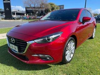 2018 Mazda 3 BN5438 SP25 SKYACTIV-Drive GT Soul Red Crystal 6 Speed Sports Automatic Hatchback.