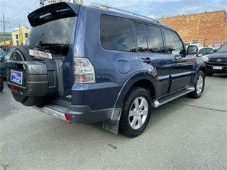2008 Mitsubishi Pajero NS VR-X LWB (4x4) 25th Ann Blue 5 Speed Auto Sports Mode Wagon