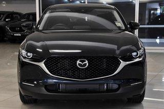 2021 Mazda CX-30 DM2W7A G20 SKYACTIV-Drive Pure Blue 6 Speed Sports Automatic Wagon.