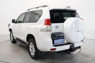 2012 Toyota Landcruiser Prado KDJ150R GXL White 5 Speed Sports Automatic Wagon.