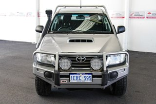 2014 Toyota Hilux KUN26R MY14 SR (4x4) Silver Sky 5 Speed Automatic Double Cab Chassis.