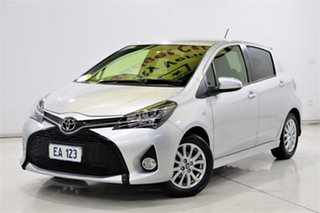2016 Toyota Yaris NCP131R ZR Silver 4 Speed Automatic Hatchback.