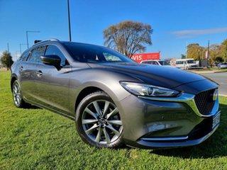 2018 Mazda 6 GL1032 Touring SKYACTIV-Drive Grey 6 Speed Sports Automatic Wagon.