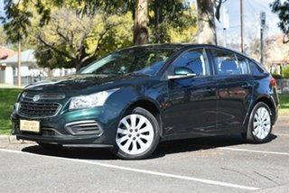 2016 Holden Cruze JH Series II MY16 Equipe Green 6 Speed Sports Automatic Hatchback
