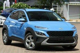 2021 Hyundai Kona Os.v4 MY21 Active 2WD Dark Knight 8 Speed Constant Variable Wagon.