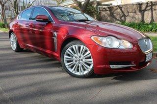 2011 Jaguar XF X250 MY12 Premium Luxury Burgundy 8 Speed Sports Automatic Sedan.