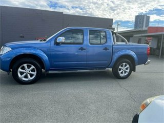 2010 Nissan Navara D40 ST-X (4x4) Blue 5 SP AUTOMATIC Dual Cab Pick-up